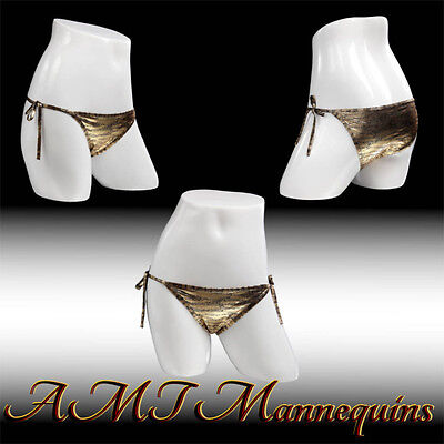 Female White Glossy Mannequin Hips Display Panties Life Size Manequin Hips-fkb