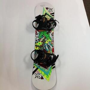 Ride Lowride 110 Youth Snowboard with Bindings (KQQPPK)