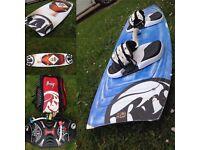 Kitesurfing Gear - RRD 7m, 9m, Board, Bar&Lines & Harness ( Kite, Surf, Kiteboard)