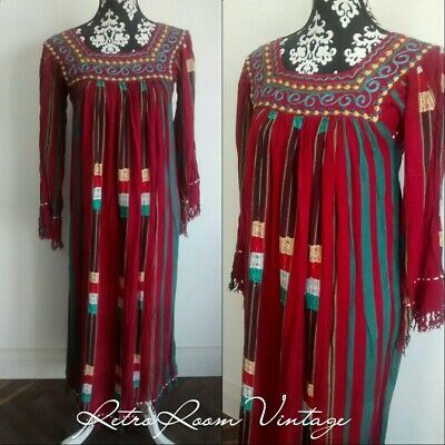 Folk hippie 1960s 70 Indian dress