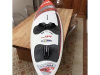 PROOF FSW 94 Litre windsurfing board BRAND NEW inc. DAKINE footsteps