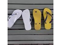 Havaianas flip flops x 2