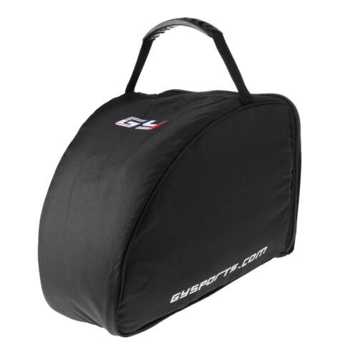 Ice Hockey Player Goalie Helmet Bag Heavy Duty Zipper Equipm