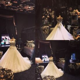 Jasmine Couture Wedding Dress size 8-10 Never been down the aisle! New £2,000!