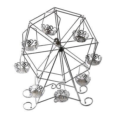 nständer Edelstahl Kuchenständer für 8 x Cupcakes (Riesenrad Cupcake Ständer)