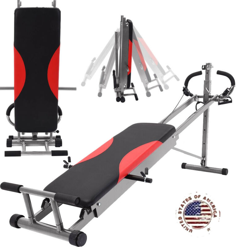 Full Body Gym Home Exercise Fitness Gym Machine AB Trainer W