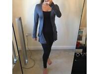 New Look drape pocket grey cardigan - Size 10