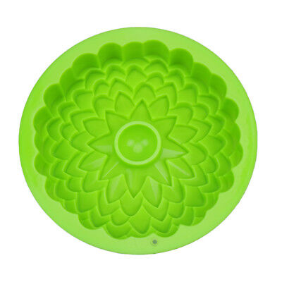 Silicone Fluted Bundt Cake Mold For Cake, Jelly, Bread Bake Pan Nonstick Fluted Mold Pan