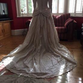 Vintage 1992 Andrea Fleet Wedding Dress