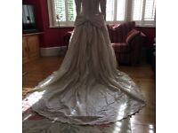 Vintage 1992 Andrea Fleet Wedding Dress