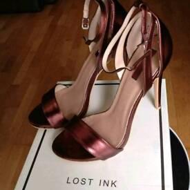 Asos Lost Ink EXCLUSIVE Burgundy Size 7 Not Riverisland Or Michael Kors