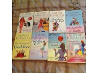 Sophie Kinsella Book Bundle x8, Fab condition! Bargain!