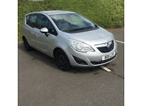 Vauxhall Meriva (automatic)