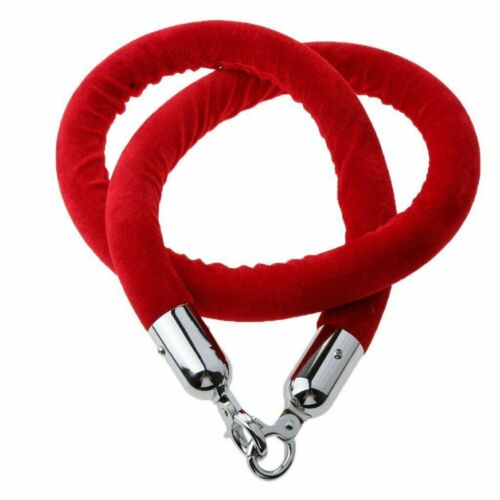 Velvet Hanging Ropes Crowd Control Stanchion Ropes Fit For Movie Theaters,Grand