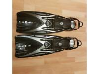Aqua lung sling shot fins
