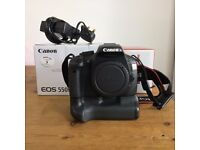 Canon 550D DSLR camera. Body only.