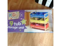 9 Tub storage unit new