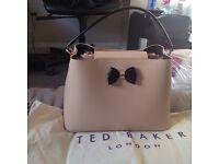 Genuine light pink ted baker hand bag
