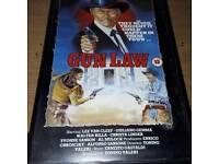 GUN LAW - LEE VAN CLEEF, TONINO VALERI, RARE VHS TAPE