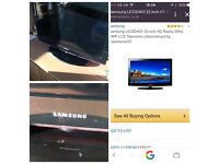 32' Samsung TV. Excellent condition
