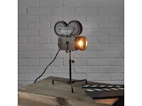Movie Themed Desk Lamps - Set Of 2