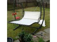 Garden helicopter seat