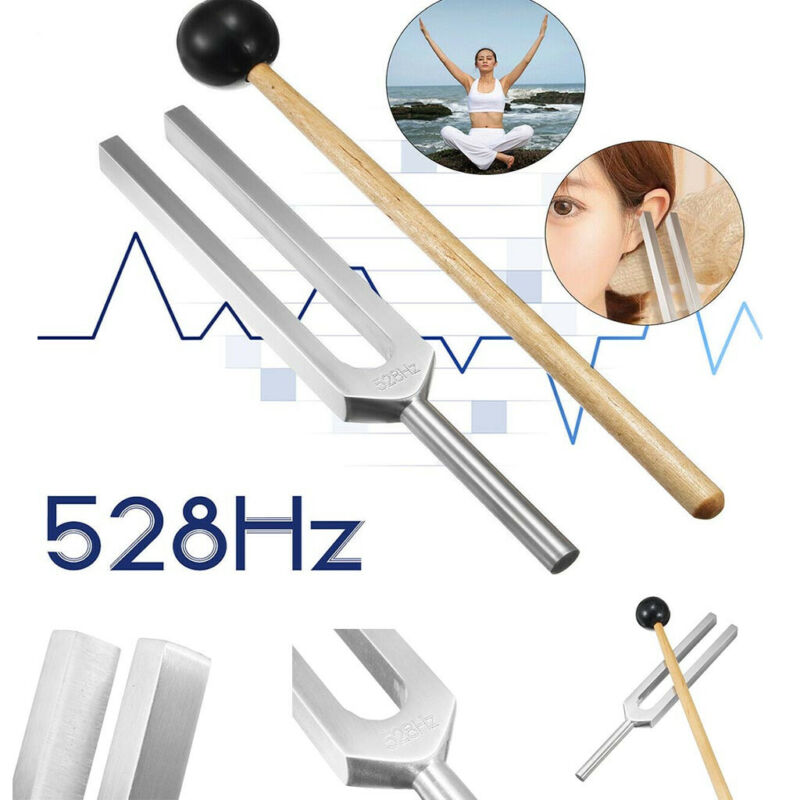 Frequency of Love Miracle Healing Set Tuning Health Care 528HZ Aluminium Alloy