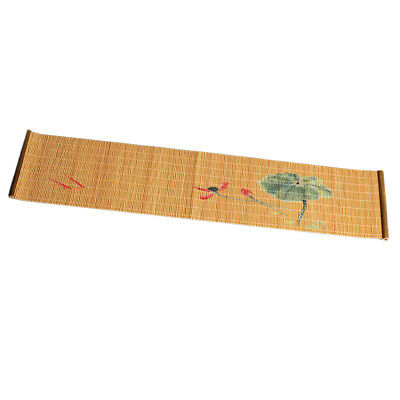 Chinese Bamboo Wooden Tea Mat Zen Table Runner Coaster Heat Proof Mat #9 for sale  Shipping to Canada
