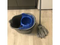 FREE Mop and bucket