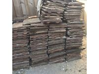 Free roof tiles and cement
