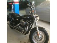 Harley Davidson 1200 sportster 2013