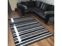 Right hand corner sofa and armchair