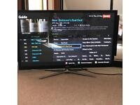 "Samsung PS51F5500 Smart 3D 51"" Plasma TV . Stand and also wall bracket provided with sale"