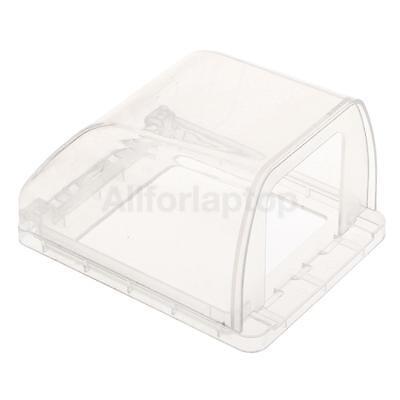 Wasserdichte Steckdose / Schalter schützende Gehäuse Fall aus Plastik - Klar - Wasser-steckdose Gehäuse