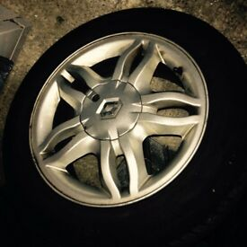 14 inch Renault alloys