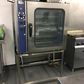 Electrolux rational electric 3 phase combi oven with stand excellent working order