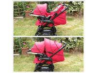 red hauck condor travel system