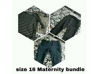 Size 16 maternity bundle