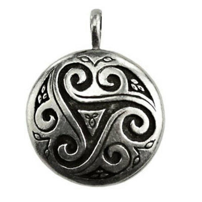 Celtic Triskele Shield Amulet 1.5