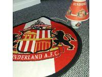 Lovely sunderland lamp and sunderland rug