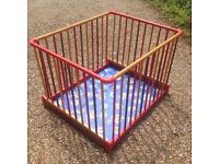 Mamas and Papas wooden playpen