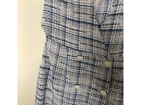 Zara pinafore dress size XS