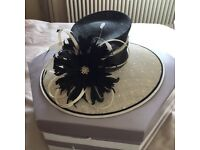 Jacque Vert Wedding Hat and shoes for sale