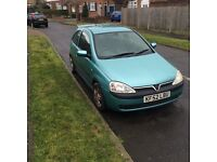 Vauxhall Corsa 1.2 (2002) Manual