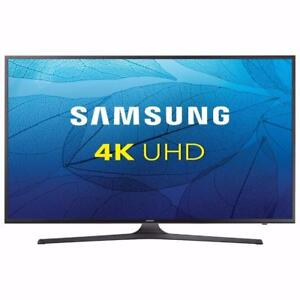 "Samsung 65"" 4K UHD HDR LED Tizen Smart TV (UN65MU6300FXZC)"