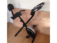 Brilliant and compact exercise bike