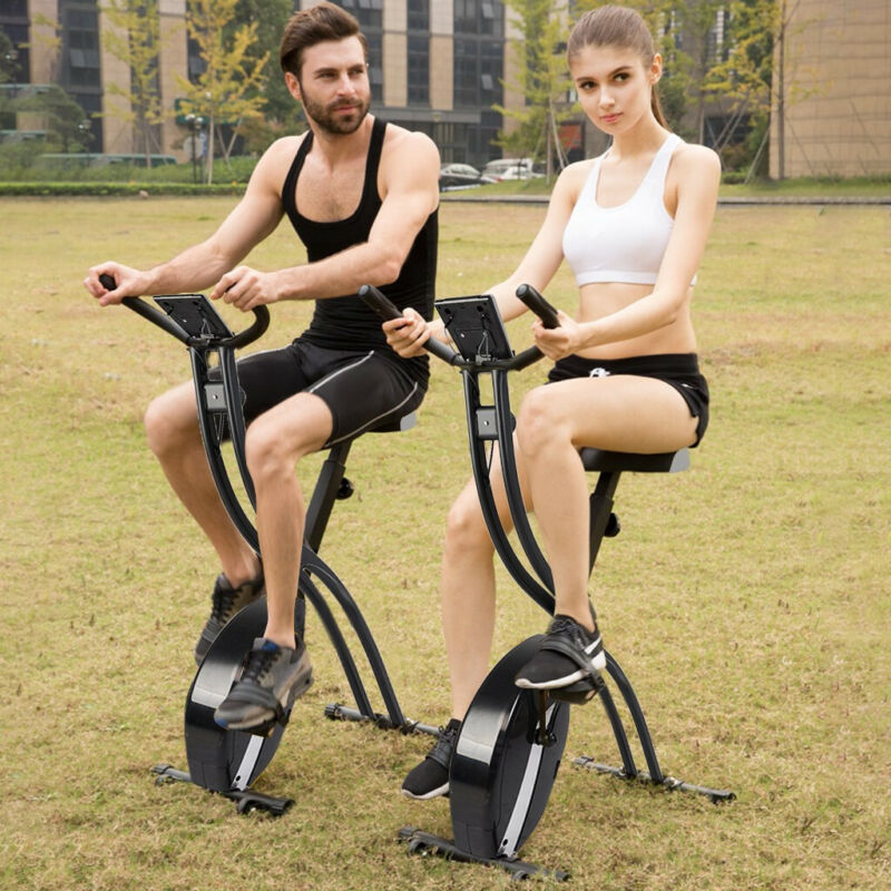 Indoor Folding Exercise Bike Cycling Magnetic Trainer Fitnes