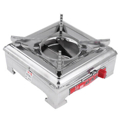 Stainless Steel Camping Spirit Burner Alcohol Stove Outdoor Cooking Tool