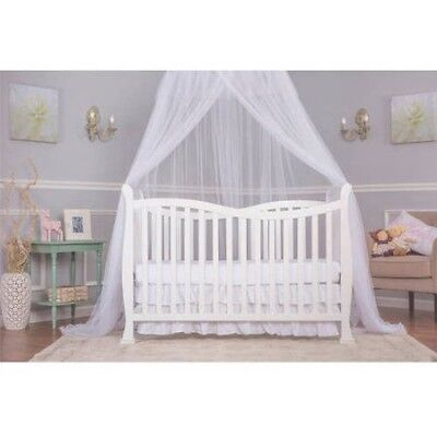 Dream On Me Violet 7-in-1 Convertible Life Style Baby Bed Crib, 7-in-1 WHITE