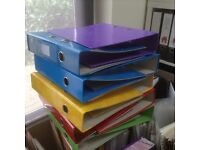 A4 Lever Arch Folders (x10) £2.00 the lot